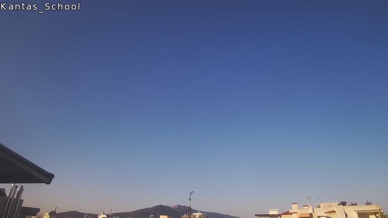 Ο ουρανός στα Βριλήσσια